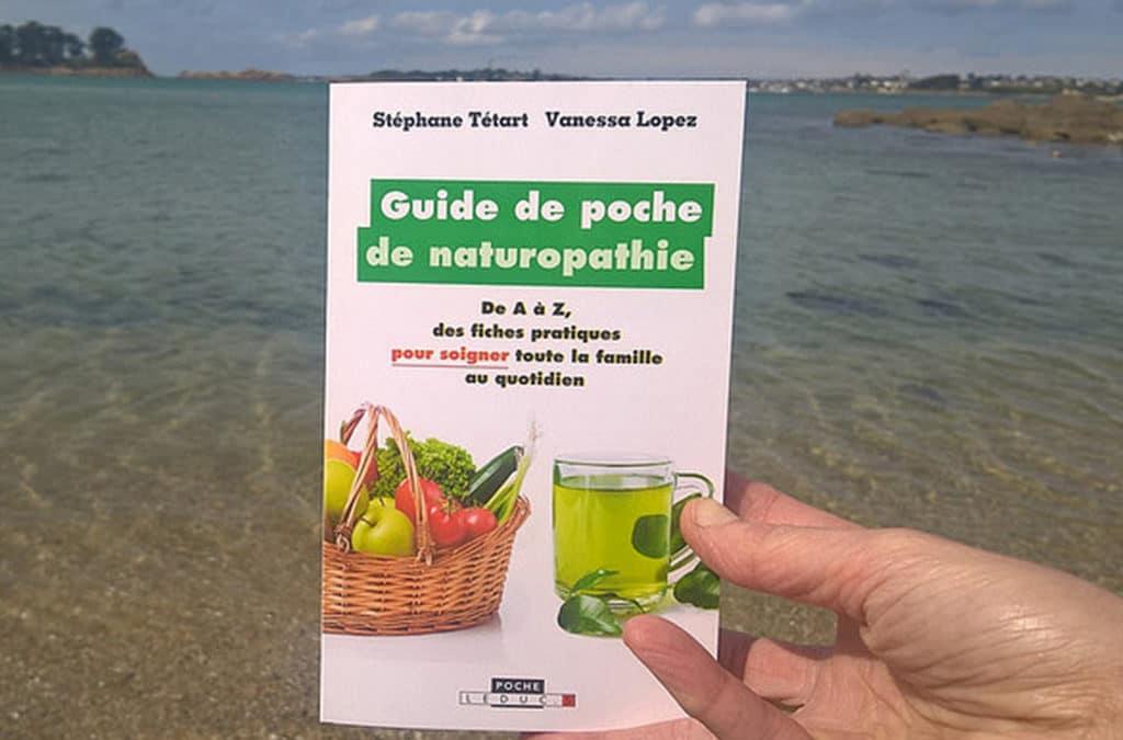 Guide de poche de naturopathie : le livre