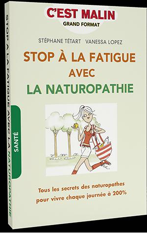 Livre stop fatigue naturopathie vanessa lopez stephane tetard 300px